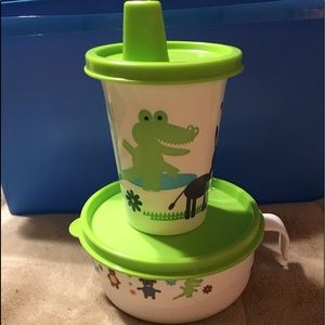 BNWT Tupperware Toddler Lunch/Snack Set